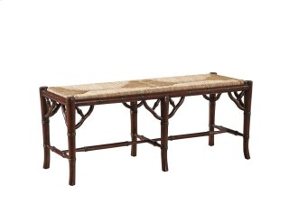 Faux Bamboo Bench