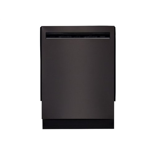 46 DBA Dishwasher with ProWash Cycle and PrintShield Finish, Front Control - Black Stainless Steel with PrintShield™ Finish