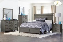Queen Bed,Dresser,mirror,Night stand