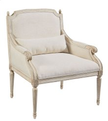Ivory Cambridge Accent Chair