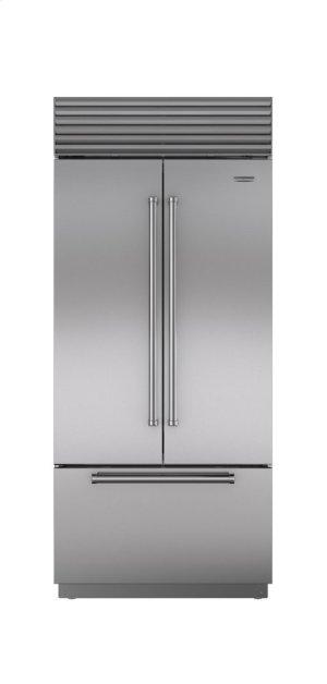 """36"""" Built-In French Door Refrigerator/Freezer with Internal Dispenser"""
