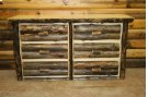 Bass Pro Dark 6 Drawer Dresser Product Image