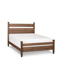Hamptons Split Panel Bed with Wood Frame, California King