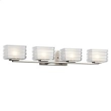 Bazely Collection Bazely 4 Light Halogen Wall Sconce NI