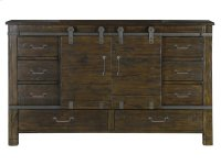 Sliding Door Dresser Product Image