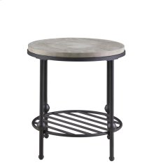 Emerald Home Cutter Round End Table T618-01