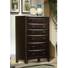 Phoenix Cotemporary Six-drawer Chest