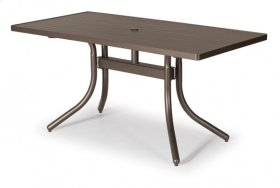 """30"""" x 60"""" Rectangular Table Top Only w/ hole"""