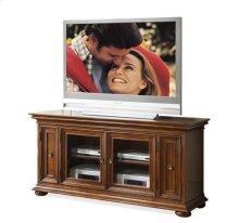 "Chatham 62"" TV Console Warm Transitional Cherry finish"