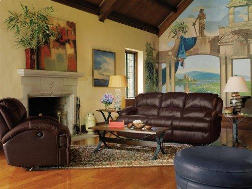 Fast Lane Leather Power Reclining Sofa