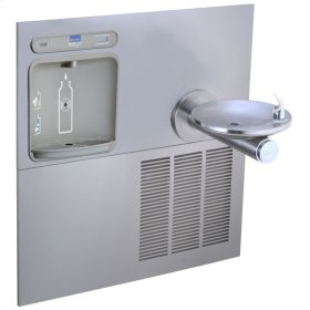 Elkay EZH2O Retrofit Bottle Filling Station with SwirlFlo Fountain, Non-Filtered 8 GPH Stainless