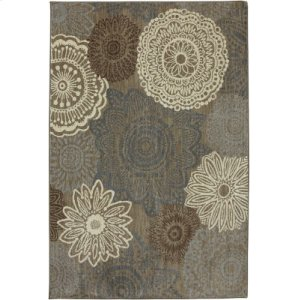 Mossat Brown Rectangle 9ft 6in X 12ft 11in