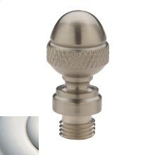 Polished Nickel with Lifetime Finish Acorn Finial