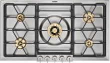 """200 series gas cooktop VG 295 114 CA Stainless steel with stainless steel control panel Width 36"""" Propane gas"""