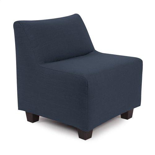 Pod Chair Linen Slub Indigo