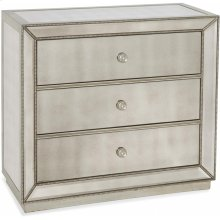 Murano 3 Drawer Hall Chest