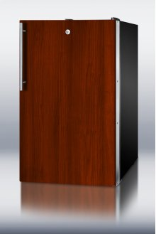 """Ada Compliant 20"""" Wide Counter Height All-refrigerator for General Purpose Use, Auto Defrost With A Lock and Integrated Door Frame for Full Overlay Panels"""