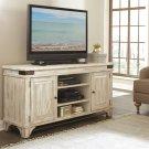 Regan - TV Console - Farmhouse White Finish Product Image