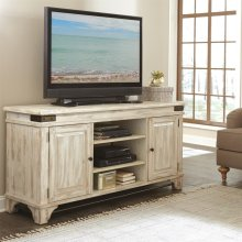 Regan - TV Console - Farmhouse White Finish