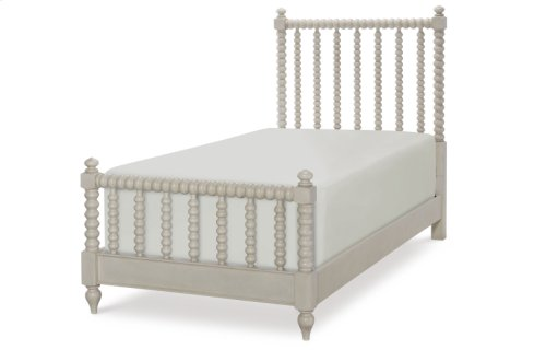 Grace Low Post Bed, Twin 3/3