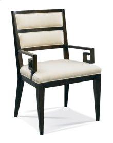 Greek Key Arm Chair