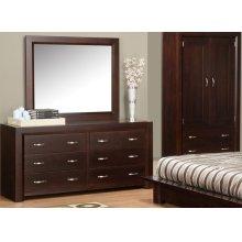 Contempo 6 Drawer Dresser