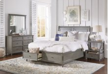 Avignon Grey Door Nightstand