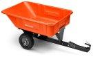 10' Poly Swivel Dump Cart Product Image