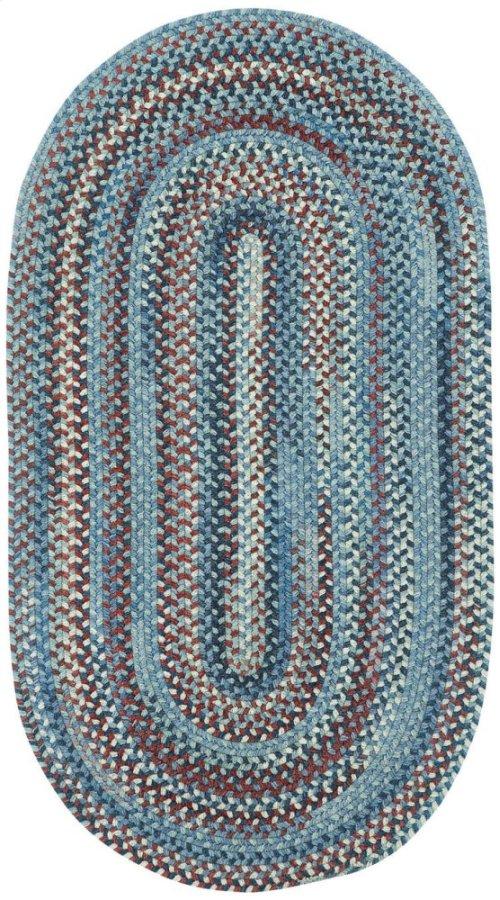 American Legacy Old Glory Braided Rugs (Custom)