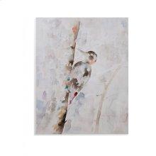 Watercolor Woodpecker