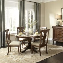 5 Piece Oval Table Set