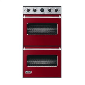 """Apple Red 27"""" Double Electric Premiere Oven - VEDO (27"""" Double Electric Premiere Oven)"""