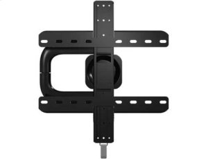 "Black Premium Series Full-Motion+ Mount for 40"" - 50"" flat-panel TVs up 75 lbs."