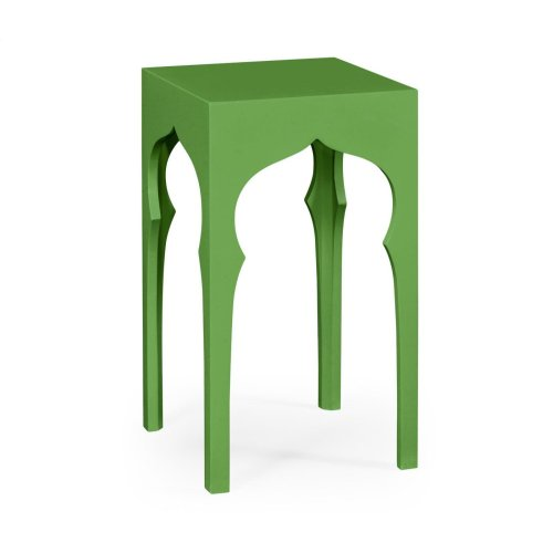 Square Lamp Table ( Wildwood Green)