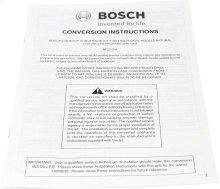 Liquid Propane (LP) Conversion Kit Installation Manual