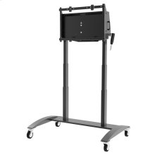 "SmartMount® Motorized Height Adjustable Flat Panel Cart FOR 42"" TO 86"" INTERACTIVE DISPLAYS"