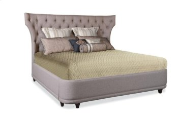Classics Queen Upholstered Platform Bed Product Image