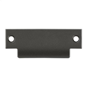 """ANSI Blank T- Strike, 4 7/8"""" x 1 1/4"""", Without Hole - Oil-rubbed Bronze"""