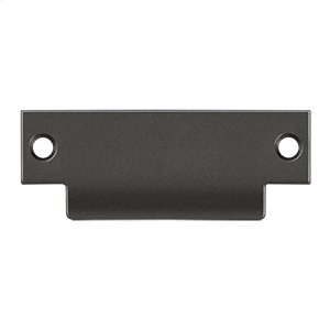 "ANSI Blank T- Strike, 4 7/8"" x 1 1/4"", Without Hole - Oil-rubbed Bronze"