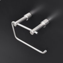"Wall-mount toilet paper holder made of stainless steel.W: 5 5/8""D: 2 7/8"" H: 4"""