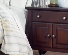 Nightstand 1 Drawer 2 Doors