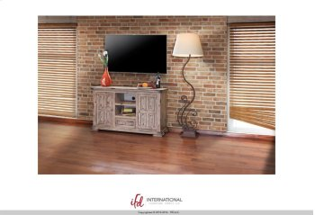 """55"""" TV Stand w/2 doors, 1 drawer & 2 Shelves Product Image"""