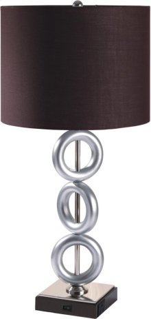 A8322 Table Lamp with Power Outlet (Set of 2)