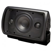 Black, Indoor/Outdoor Stereo Input Loudspeaker; 5-in. 2-Way-Black OS5.3Si - Black