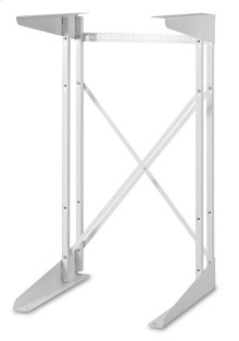 Compact Dryer Stand - White