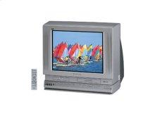 "27"" Diagonal Triple Play™ TV/DVD/VCR Combination"