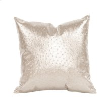 "16"" x 16"" Pillow Ostrich Pearl"