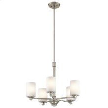 Joelson Collection Joelson 5 Light Chandelier NI