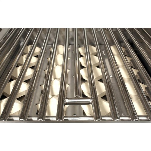 """56"""" Sear Zone Grill with Side Burner Cart"""