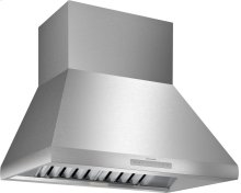 36-Inch Professional Chimney Wall Hood HPCN36WS